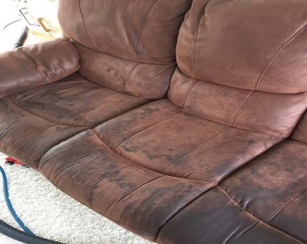How do you clean a suede sofa or armchair? | Apple Clean